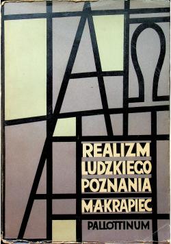 Realizm ludzkiego poznania