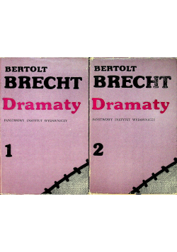 Brecht Dramaty 2 tomy
