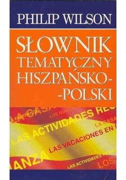Słownik tematyczny Hiszpańsko Polski