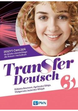 Transfer Deutsch 3 Zeszyt ćwiczeń PWN