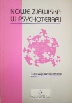Nowe zjawiska w psychoterapii