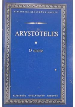 Arystoteles O niebie