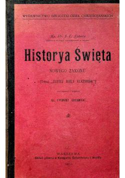 Historya Święta Nowego Zakonu 1904 r
