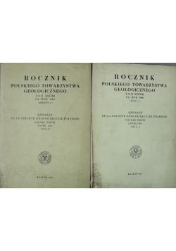 Rocznik polskiego towarzystwa geologicznego 2 tomy