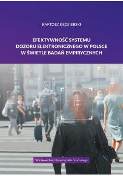 Efektywność systemu dozoru elektronicznego..
