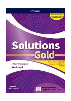 Solutions Gold Intermediate WB OXFORD