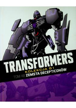 Transformers Tom 48 Zemsta Deceptionów