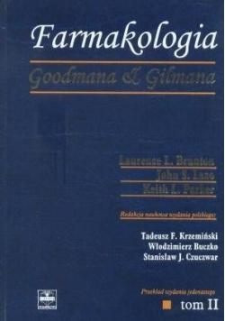 Farmakologia Goodmana & Gilmana Tom II