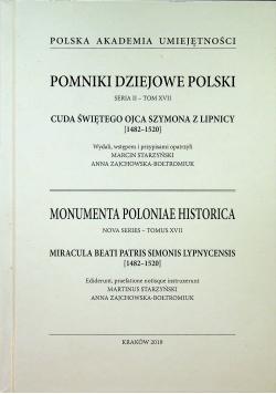 Cuda świętego Ojca Szymona z Lipnicy 1482 1520