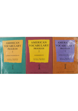 American vacebulary Tomy I do III