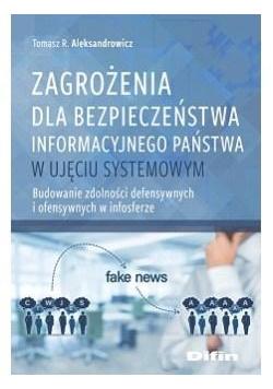 Zagrożenia dla bezpieczeństwa informacyjnego..