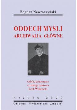 Bogdan Nawroczyński. Oddech myśli