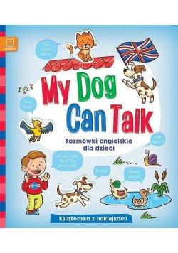 My Dog Can Talk. Rozmówki angielskie dla dzieci