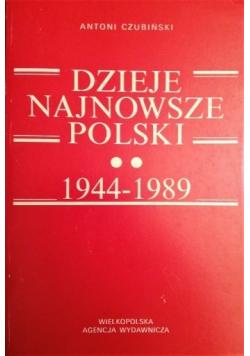 Dzieje najnowsze Polski 1944 1989