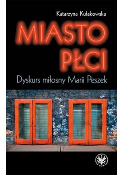 Miasto płci. Dyskurs miłosny Marii Peszek
