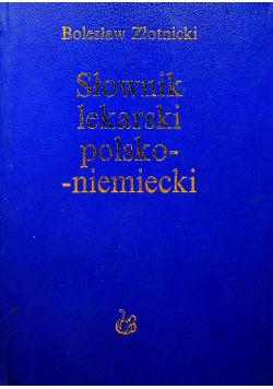 Słownik lekarski polsko niemiecki