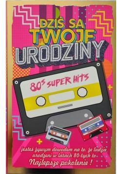 Karnet Urodziny lata 80. 2K - 043