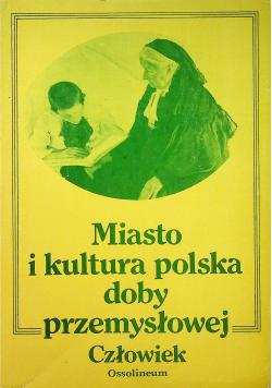 Miasto i kultura polska doby przemysłowej