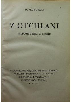 Z Otchłani 1947 r.