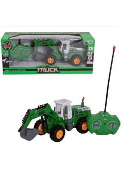 Traktor koparka RC na baterię