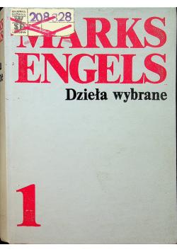 Engels Dzieła wybrane tom I