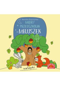 Mądry przedszkolak Maluszek Książeczka z nalepkami
