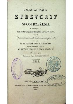 Jasnowidząca z Prevorst tom 1 1832 r