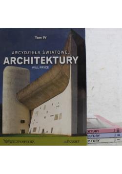 Arcydzieła Światowej Architektury 4 tomy