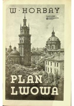 Plan Lwowa reprint z  1938 r