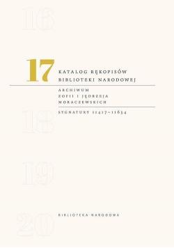 Katalog rękopisów Biblioteki Narodowej T.17
