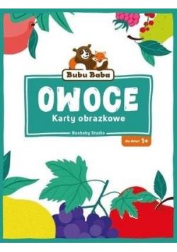 Bubu Baba Karty obrazkowe Owoce