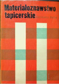 Materiałoznawstwo tapicerskie