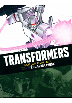 Transformers Tom 31 Żelazna pięść