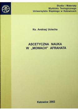 Ascetyczna nauka w Mowach Afrahata
