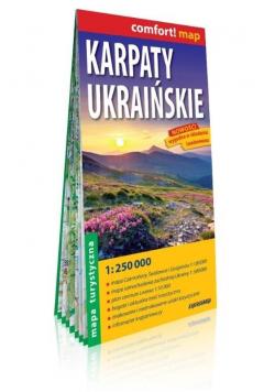 Comfort!map Karpaty Ukraińskie 1:250 000 mapa