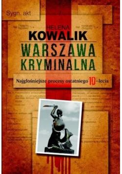 Warszawa kryminalna