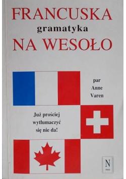 Francuska gramatyka na wesoło