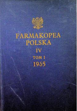 Farmakopea Polska IV Tom 1