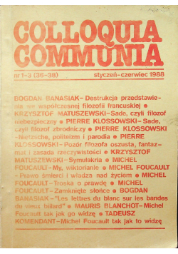 Colloquia Communia nr 1 3