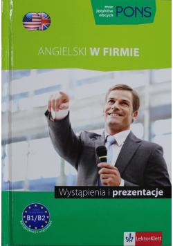 Pons Angielski w firmie Wystąpienia i prezentacje + CD