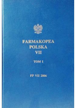 Farmakopea Polska VII Tom I
