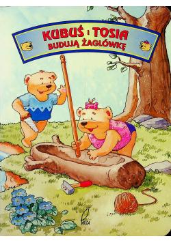 Kubuś i Tosia budują żaglówkę