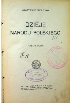 Dzieje Narodu Polskiego 1921 r.