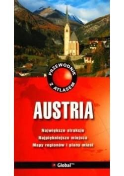 Przewodnik z atlasem Austria