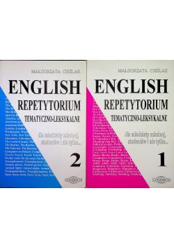 English Repetytorium Tematyczno Leksykalne 2 tomy
