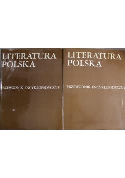Literatura polska Przewodnik encyklopedyczny Tom I i II
