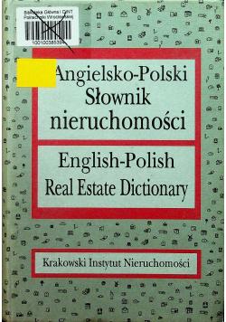 Angielsko polski słownik nieruchomości