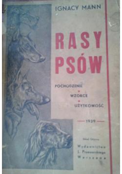 Rasy Psów 1939 r.