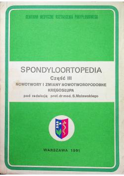 Spondyloortopedia część 3