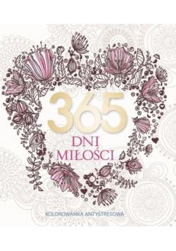 365 dni miłości Kolorowanka antystresowa